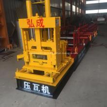 Máquina automática de formación de correas hidráulicas C