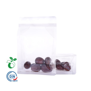 Compostable Block Bottom Food Embalagem Bag