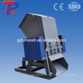 Single Shaft Design und PVC PP PE HDPE PET Kunststoff Typ Schredder aus Kunststoff Flaschen