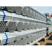 estructura de acero de invernadero / tubo de acero galvanizado en caliente