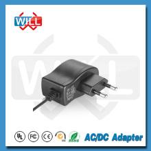 Nivel de eficiencia V o VI Adaptador de corriente europeo