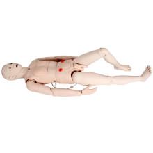 Formação em habilidades de enfermagem multifuncional Modelo de simulador médico humano