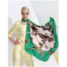 Bufanda de China bufandas impresas a medida para la señora de la moda