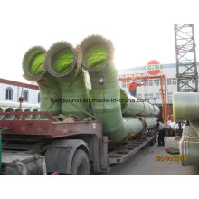 Raccords de tuyauterie en fibre de verre - Coude en PRF pour la connexion