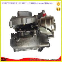 Gt2056V Yd25 Turbo 769708-5004s 14411-Ec00c 14411-Ec00b Turbocompressor para Nissan
