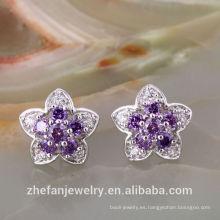 Pendientes de moda diseños nuevos modelos pendientes de corte de oro Dubai joyas