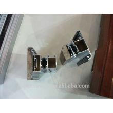 Profilés de fenêtres en bois en aluminium