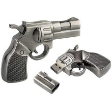 Forma de pistola Custom Usb Drive Regalo Usb Flash