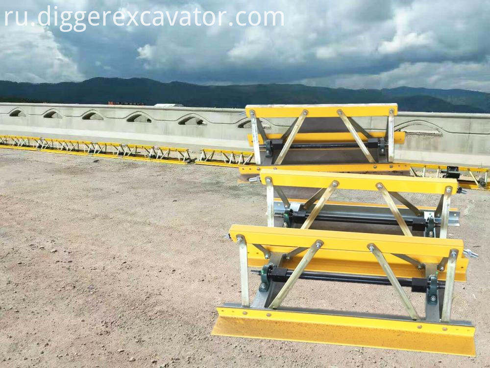 concrete vibratory truss screed machine