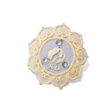 Custom Organizational Metal Badge with Gold Plated (GZHY-LP-017)