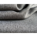 Polyester Woven Sofa Fabric Dyed Plain Coated Fabric