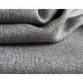 Tela tecida tingida tela do sofá do poliéster tela revestida lisa