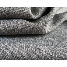 Tejido tejido poliéster teñido tela lisa teñida del sofá