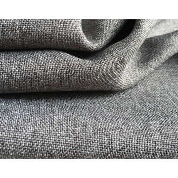 Polyestervävda soffa Tygfärgad Plain Coated Fabric