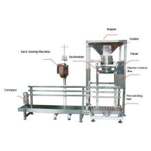 Semiautomatic Wheat Flour Bag Packing System