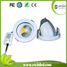 Downlight tournant rotatoire direct de l'usine 85-277V 1850mm 15W LED usine