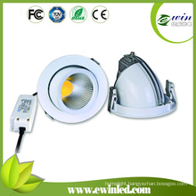 COB LED Downlight Cutout140mm 15W Rotatable LED Downlight