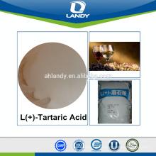 Good quality food grade L(+)-Tartaric Acid