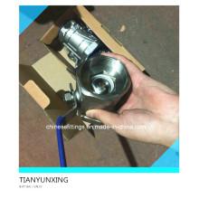 Válvula de bola roscada Bsp de acero inoxidable 2PC