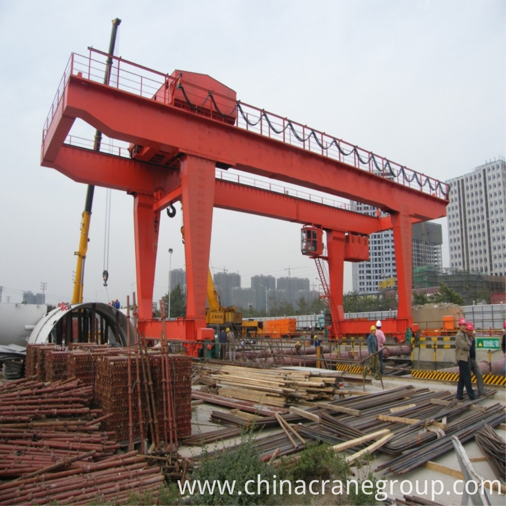 single girder crane machinery