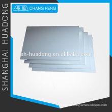 alta qualidade moldada folha de PTFE, usado como material anti-atrito