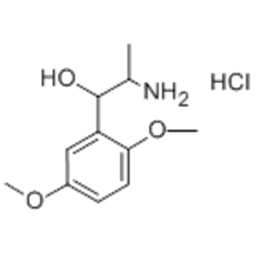 Benzenemethanol,a-(1-aminoethyl)-2,5-dimethoxy-,hydrochloride (1:1) CAS 61-16-5