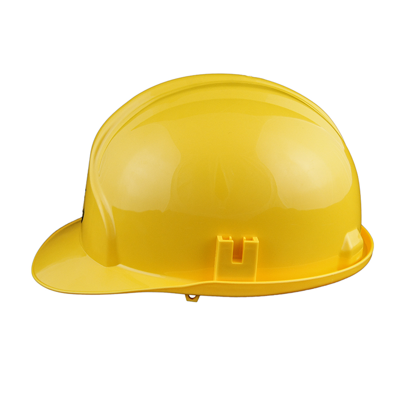 CE construction industrial HDPE safety helmet