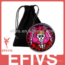 2013 fashion velvet jewelry pouch with logo