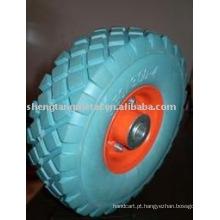 roda de pu sólido de alta qualidade