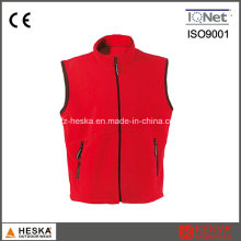 Wholesale Casual Waistcoat Thick Men Polar Fleece Vest