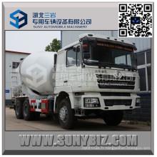 Camion de mélangeur de ciment de Shacman Delong F3000 12 Cbm