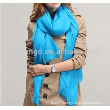 Fashion solid big size plain wool scarf