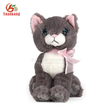 Stuffed lifelike cute cat plush toy