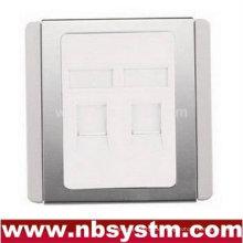 86Typ 2ports mit silberner Rahmen