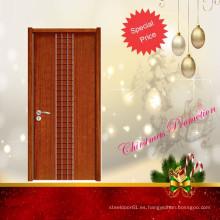 Diseño de la promoción de Navidad de puerta de madera contrachapada de la chapa