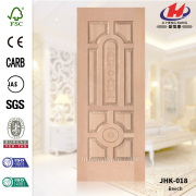 Project Accordion Beech HDF Veneer Door Panel