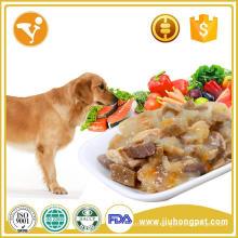 Ningún perro aditivo tipo de aplicación natural oem comida para mascotas comida para perros enlatada