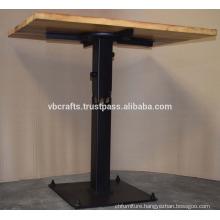 Modern Urban Loft Industrial Table Recycled Wood