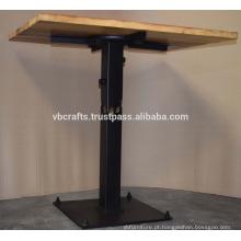 Modern Urban Loft Industrial Table Madeira Reciclado