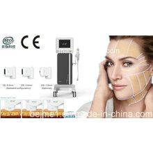 Hifu-hohe Intensität fokussierte Ultraschall-Schönheits-Salon-Ausrüstung für das Anheben des Gesichtes, Hals, Braue
