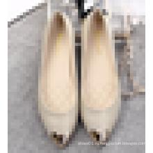 2016 Новый стиль леди моды платье обуви Дешевые плоские повседневная обувь