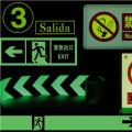 Acrylic Photoluminescent Film for Traffic Sign