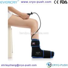 Paquet / paquet de compression de thérapie de glace froide de chaleur chaude de pied / cheville