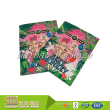 Smell Proof Custom Printed 3 Sides Heat Sealed Ziplock Plastic Aluminium Foil Packaging Spice Herbs Pouch