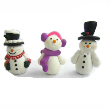 Polymer Clay Snowman Christmas Cake Topper Christmas Decoration