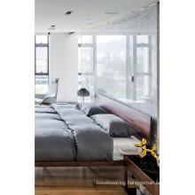 High Quality Modern Walnut Bed Sets