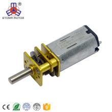 Caja de cambios de motor eléctrico preciso con eje central D-cup de 3,5 mm ET-SGM12-A 3volt