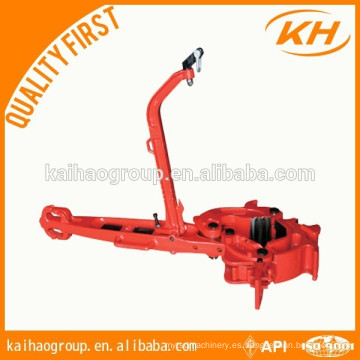Pinzas manuales tipo B de alta calidad, pinzas manuales de trabajo manual, pinzas manuales para tubería de perforación