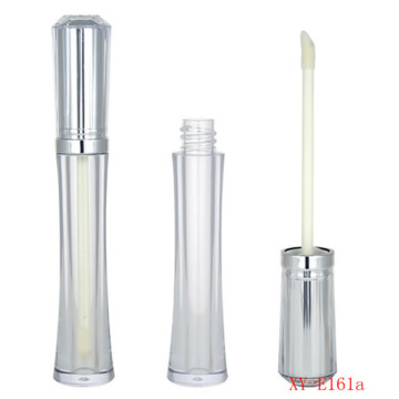 Slim ​Diamond Shaped Silver Lipgloss Container Empty