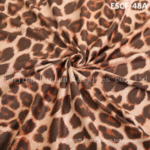 Print and Golden-Plating  Suede Fabric Escf-48A